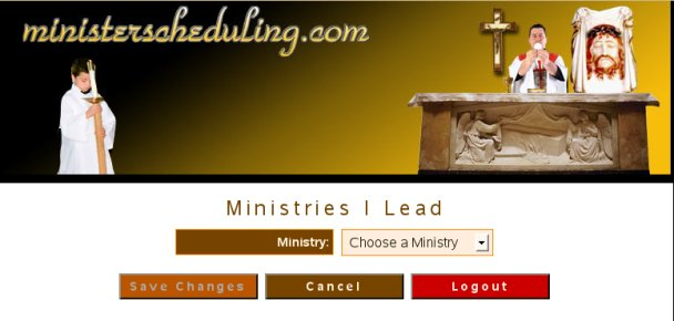 Selecting a ministry with which to work
